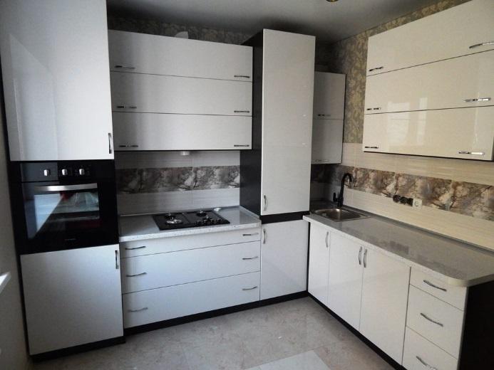 Кухня МДФ пленка в стиле Модерн