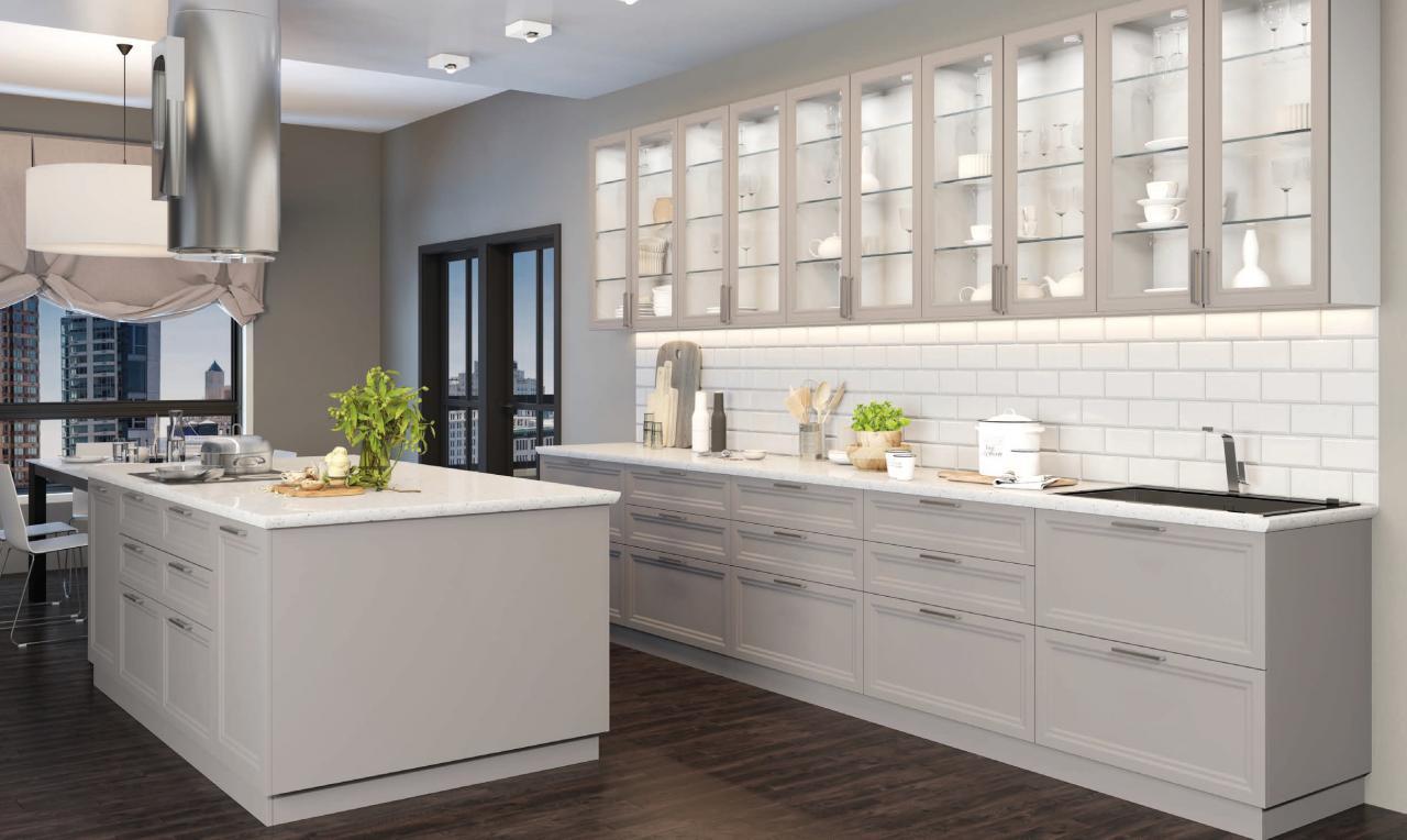 Леон- модная фасад со стильной фрезой украсит любую кухню