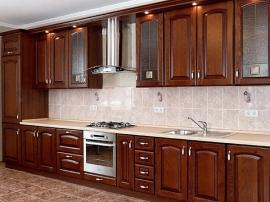 Длинная прямая кухня Сандра Ноче