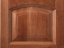 Фасад кухни массив бука красивого натурального коричневого цвета