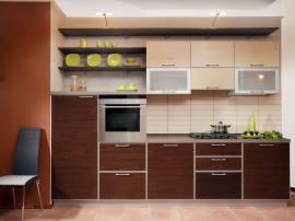 Кухня МДФ пластик модерн Хай- Тек элегантная стильная и простая