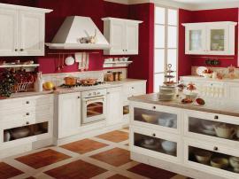 Кухня современная классика в английском стиле белая МДФ в пленке респектабельная и элегантная СДК