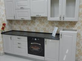 Новинка 2014 кухня с итальянскими фасадами белый глянец Меган