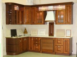 Угловая кухня Савона с итальянскими фасадами