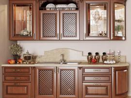 Встроенная кухня Асти с радиусными фасадами из Италии