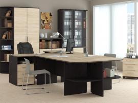 Мебель на заказ для руководителя из МДФ недорогая