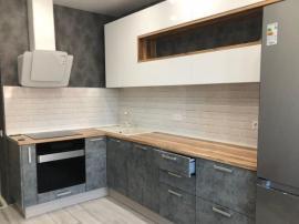 Кухня под бетон фото