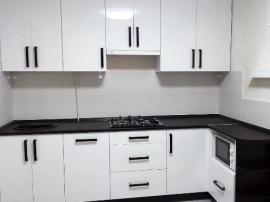 Белая кухня МДФ пленка