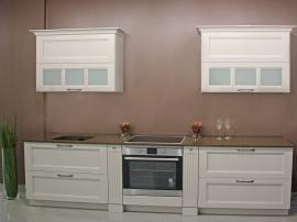 Неоклассическая кухня цвета топлёного молока