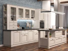 Фин кухня в строгом классическом стиле