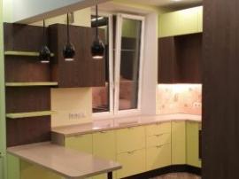 Кухня Клиф П- образная